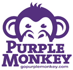 Purple Monkey Logo for website